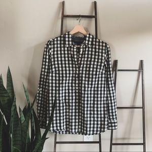 Tommy Gingham Top